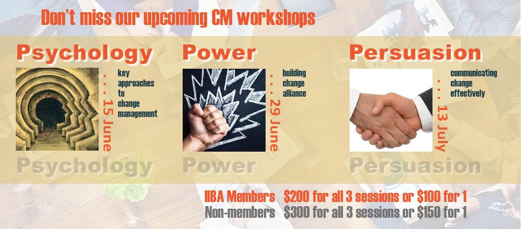 IIBA CM Workshops